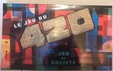 Jeu de société Le Jeu du 420 - Jamais servi - Ressemble au Scrabble