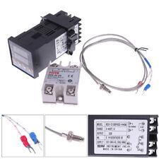 100 240vac Pid Rex C100 Temperature Controller Ssr 40a Thermocouple Us