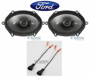 Image Is Loading Kicker 6x8 034 Inches Rear Factory Speaker Replacement