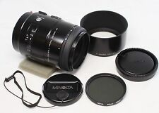 Very good Minolta AF Macro 100mm F/2.8 New Type Lens for Sony alpha