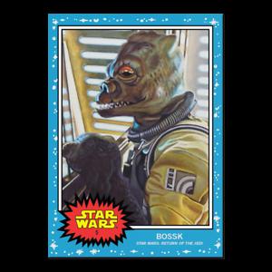 Topps Star Wars Living Set BOSSK Card #5