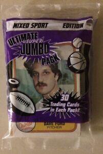 Old-Vintage-Mixed-Sports-Card-Pack-Baseball-Football-Hockey-Basketball