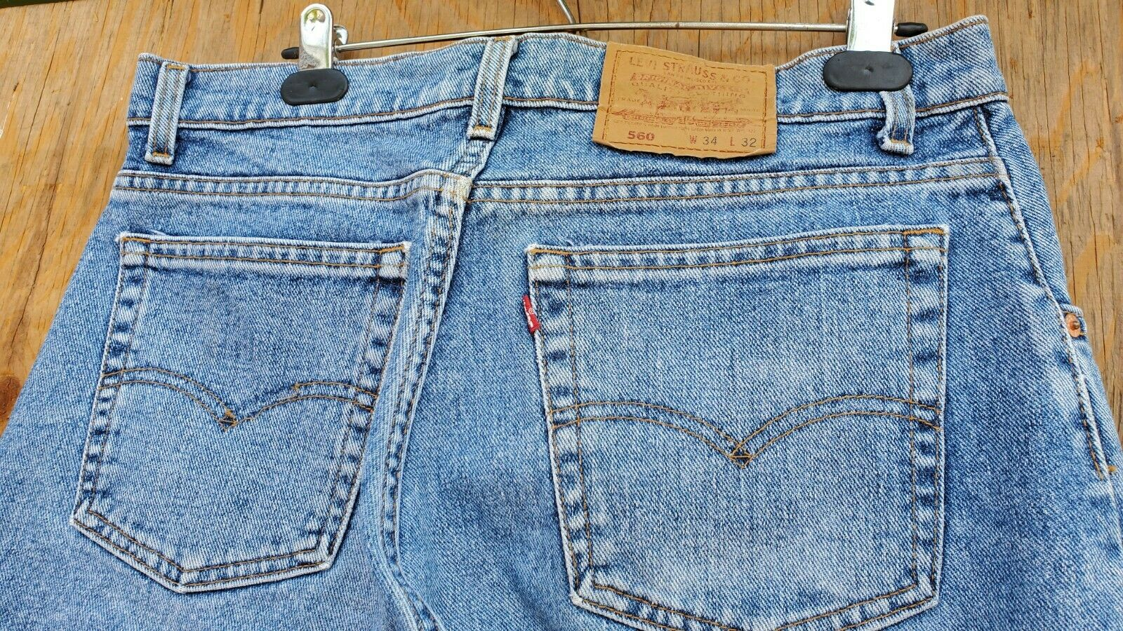levis 560 34x32.made In Usa - image 3