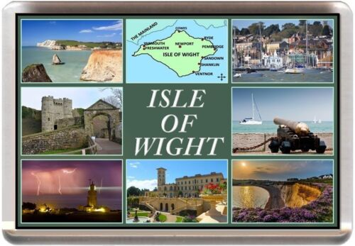 COWES RYDE VENTNOR SHANKLIN ISLE OF WIGHT FRIDGE MAGNET NEW REF SFIOW1.1