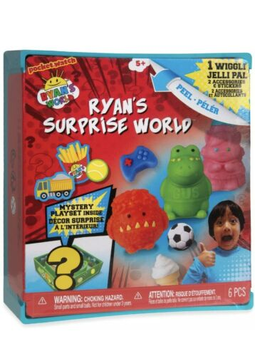 Ryan/'s World Orb Surprise World Mystery Playset Accessories /& Stickers Free Post