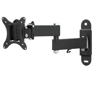 """Support mural tv muraux pivotant et inclinable LCD  10 - 26"""", 25 - 66 cm"""