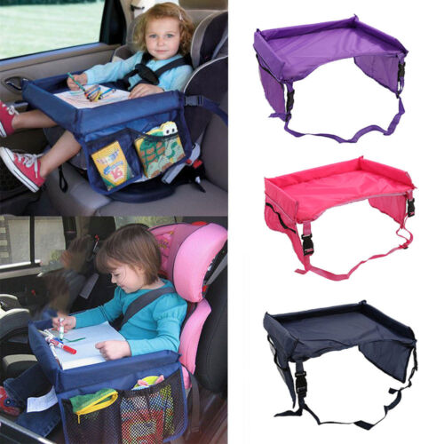 Portable Baby Children/'s Snack Play Tray for Car Seat Plane Toddler Travel table