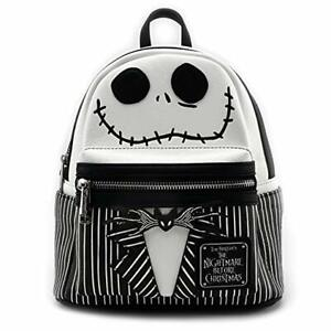 good looking new style recognized brands Jack Skellington Face Mini Backpack Loungefly Nightmare Before ...