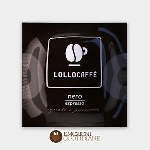 150 CIALDE 44 ese LOLLO CAFFE MISCELA NERA 100% VERO ESPRESSO NAPOLETANO