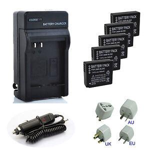 Battery-Charger-For-Panasonic-Lumix-DMC-ZS60-DMC-ZS100-Digital-Camera