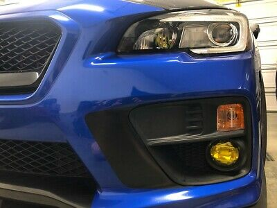 Air Release Yellow Fog Light Overlays Tint Jdm For 2015