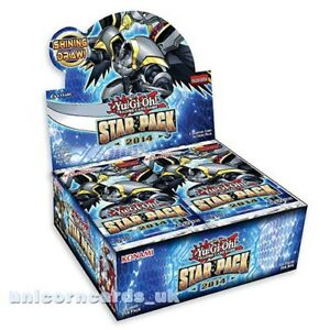 YuGiOh-Star-Pack-2014-1st-Edition-New-and-Sealed-Box-50-Boosters