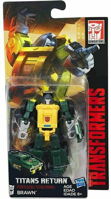 Transformers Titans Return BRAWN Complete Generations Legends
