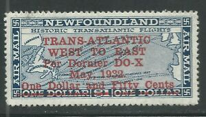 NEWFOUNDLAND-C12-MNH-1932-DO-X-Air-Post-issue
