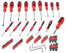 80 PC ROLSON TOOLS SCREWDRIVER BIT PRECISION SLOTTED TORX PHILLIPS TOOL KIT SET