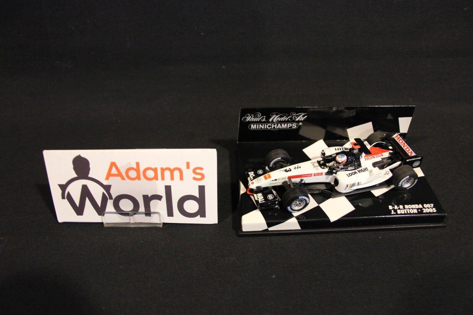 Minichamps BAR Honda 007 2005 1 43 Jenson Button (GBR) (MM1)
