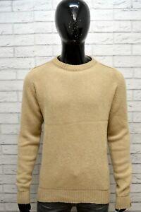 Maglione-Lana-Uomo-LEVI-039-S-Taglia-L-Maglia-Felpa-Pullover-Cardigan-Sweater-Man