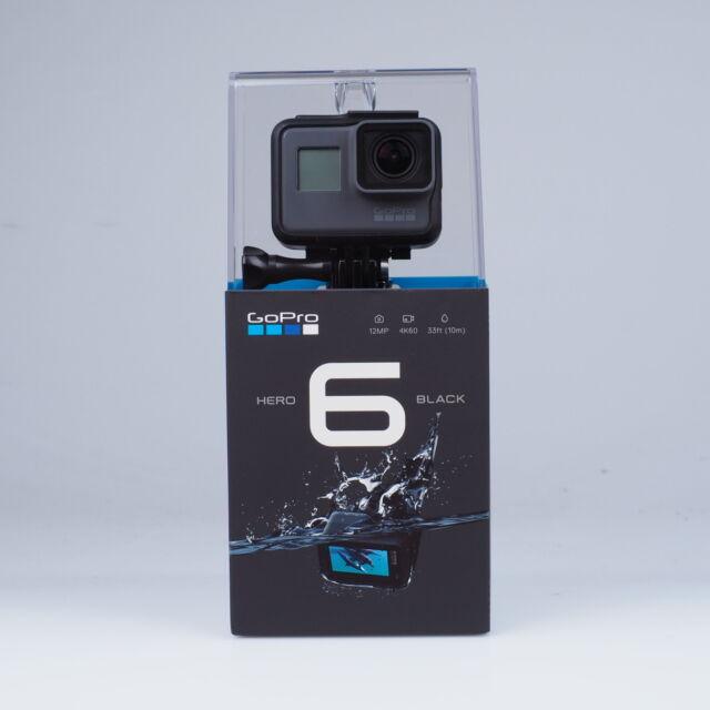 GoPro HERO6 Black 4K Ultra HD Kamera