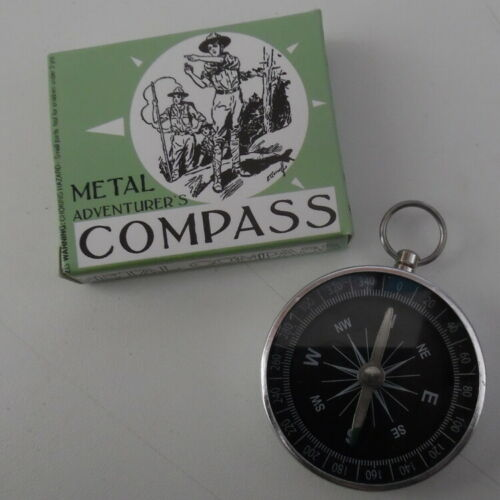 Camping Family Mini Metal Adventurer/'s Compass Adventure Stocking Fillers
