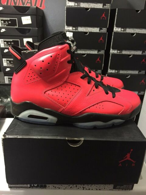 cheaper 2e9f3 07810 NIKE AIR JORDAN 6 RETRO INFRARED 23 TORO MENS SIZE 10 DEADSTOCK