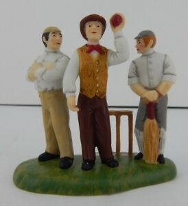 Dept-56-Dickens-Village-Awaiting-The-Umpire-039-s-Call-4020197-Never-Displayed