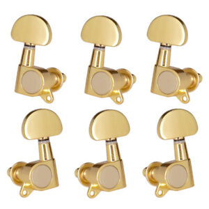 3L3R String Tuning Peg Tuner Machine Head fr Acoustic Electric Guitar Golden
