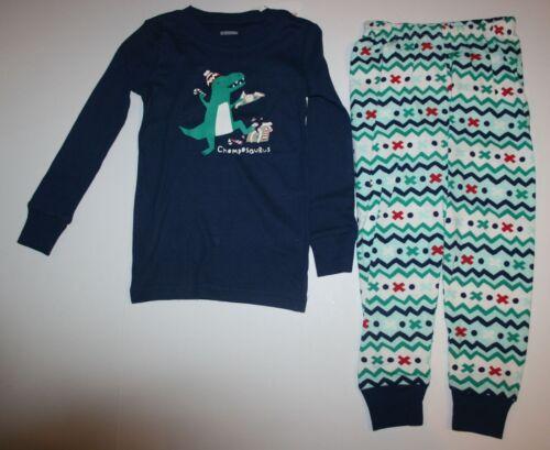 NEW Gymboree Outlet Boy Holiday Pajamas PJs 3 4 5 6 7 8 10 12 14 Dinosaur Chomps