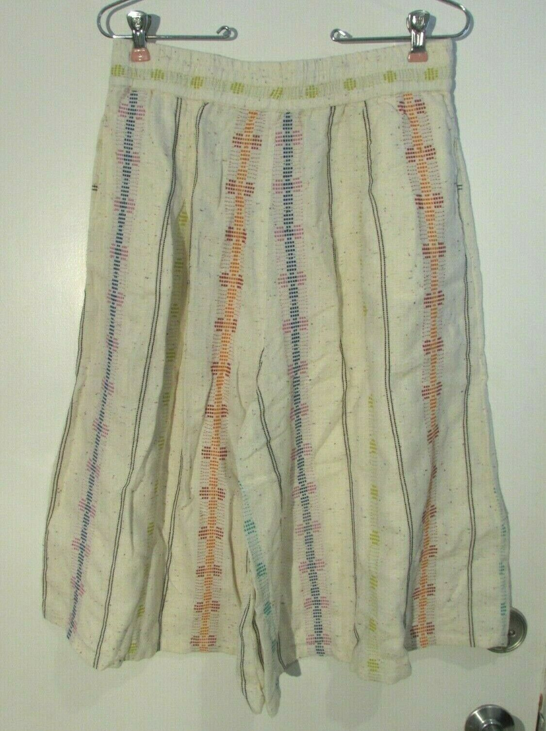 ACE & JIG DRIFTER CULOTTE WIDE LEG SHORTS  PANTS NEW WITH TAGS