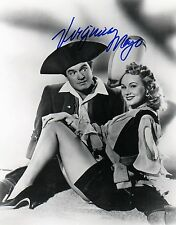 OFFICIAL WEBSITE Virginia Mayo (1920-2005) & Bob Hope 8x10 AUTOGRAPHED
