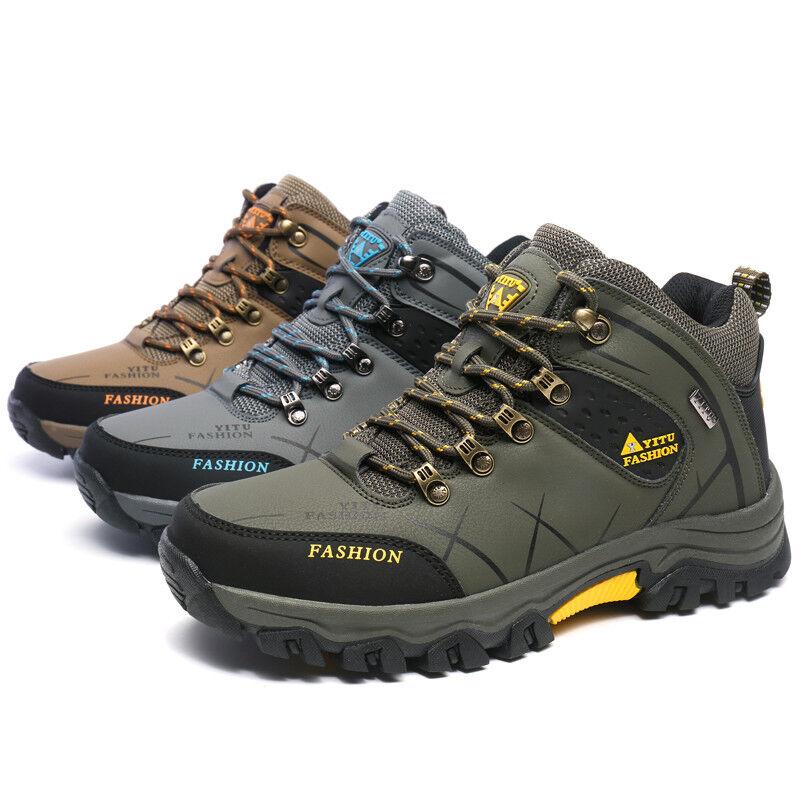 Spring Men's Big Size Hiking shoes Waterproof Outdoor Hunting Climbing shoes Hot