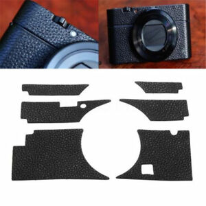 Kraft-Leather-Sticker-Case-Body-Skin-Black-Cover-Decal-For-Sony-RX100III-M3