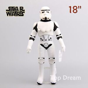 Cartoon-Star-Wars-Stormtrooper-Soft-Plush-Stuffed-Doll-Toy-45cm-18-039-039-Xmas-Gift