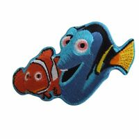 Disney's Finding Nemo Marlin And Dory Embroidered Patch