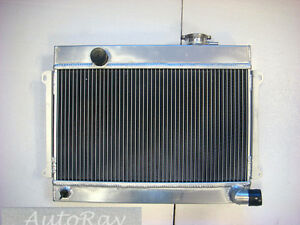 Brand-New-Aluminum-Radiator-for-Datsun-1600-Manual-MT-3-Core
