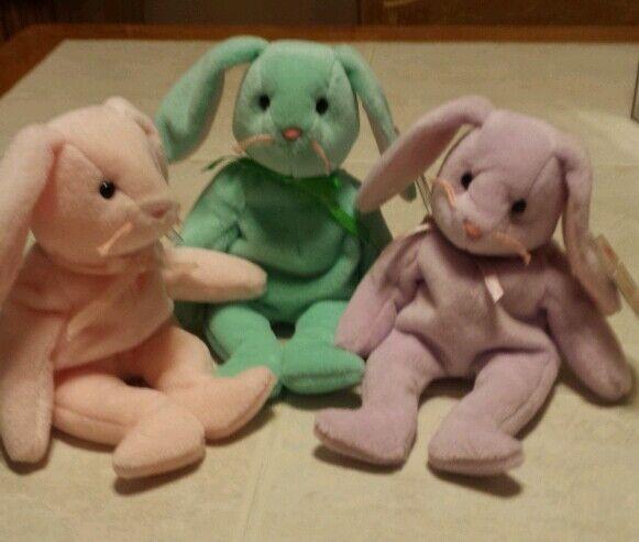 Hippity, hoppity, floppity beanie babies
