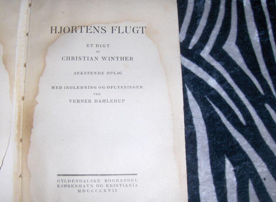 HJORTENS FLUGT - 1917, CHRISTIAN WINTHER, emne: anden