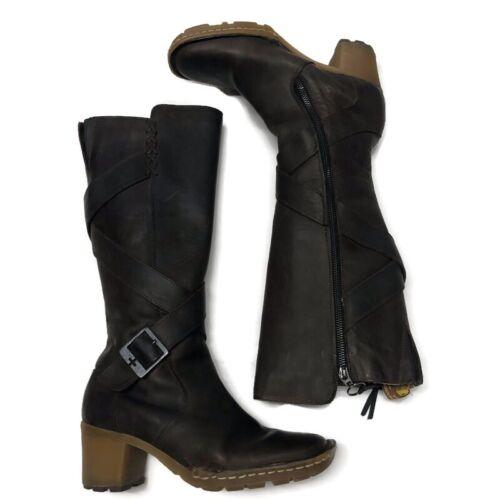 Dr Martens Womens Knee High Boots Size 6 Heels Str