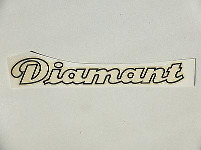 Auto & Motorrad: Teile Official Website Diamant Schriftzug Wasserabziehbild Abziehbild 182x30mm 87930d Weiß/rand Schwarz Professional Design