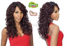 Equal Synthetic Brazilian Natural Deep Invisible Part Wig Lace Bently