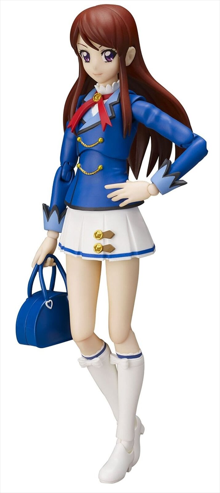 Bandai S.H. Figuarts Aikatsu   Ran Shibuki Winter Uniform Ver. Action Figure