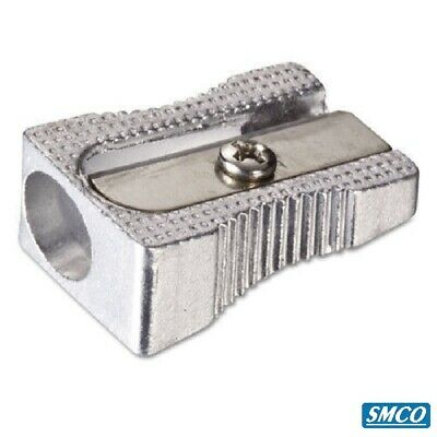 24 QUALITY SMCO METAL PENCIL SHARPENER 1 HOLE