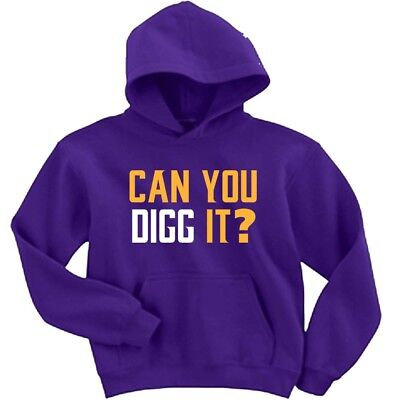 "Stefon Diggs Minnesota Vikings /""Can You Digg It/"" jersey T-shirt Shirt"
