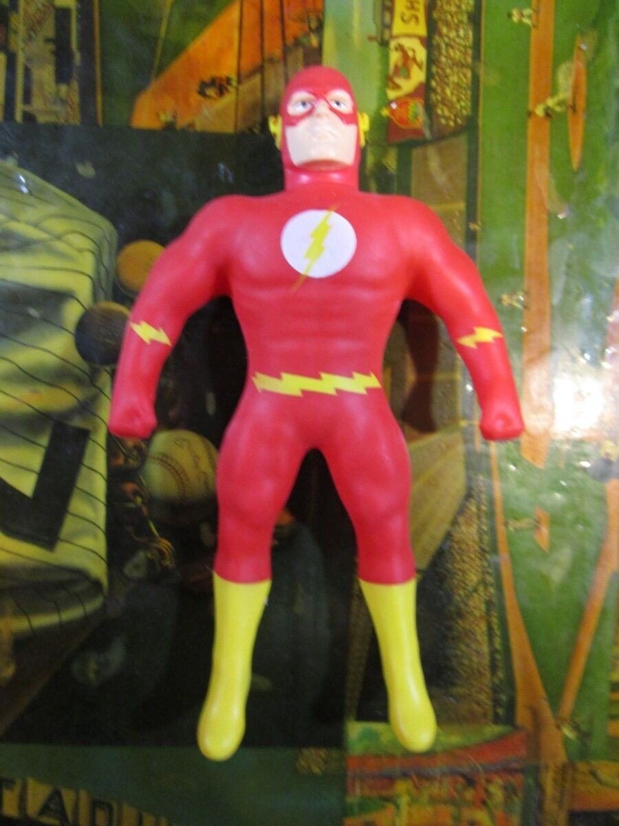 Stretch Armstrong Justice League 7'' Flash Figure Rare Loose