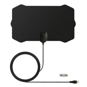 Digital-Antenna-Tv-Hdtv-50-Miles-Long-Range-Hq-Hdtv-Indoor-Antena-Freeview-HD-CF