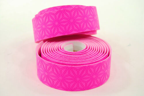 Supacaz Super Sticky Kush Road Bike Handlebar Tape Neon Pink