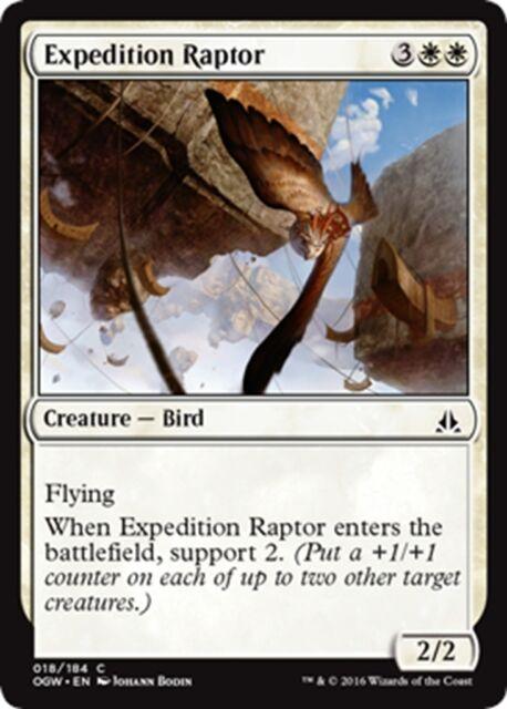 MTG Magic - (C) Oath of the Gatewatch - 4x Expedition Raptor x4 - NM/M