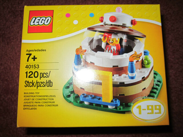 Lego 40153 Birthday Cake Table Decoration Ages 1 99