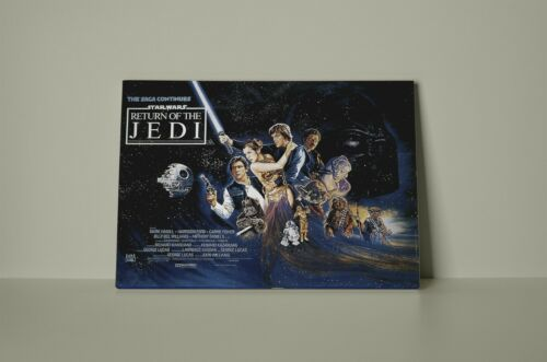 Star Wars The Return of the Jedi 001 Framed Canvas Print