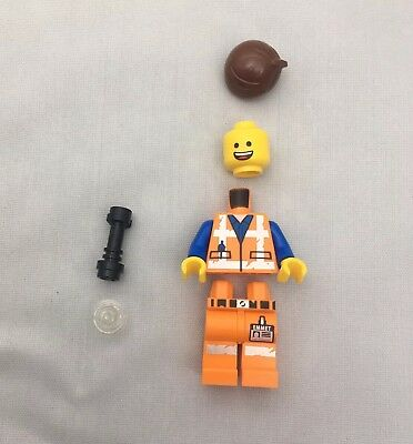 New /& Unassembled LEGO Movie 2 Rex Dangervest Minifigure Split from 70826