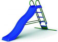 Scivolo a onda con scaletta per bambini 150x285x168H cm